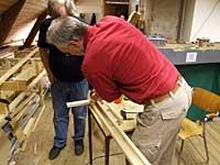 I full sving med bygging av rammeverk